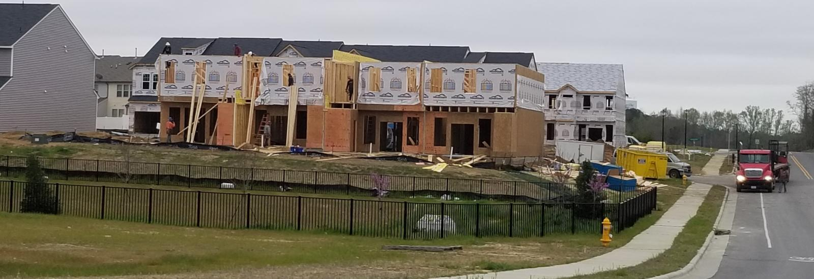 Residential Townhouse Construction