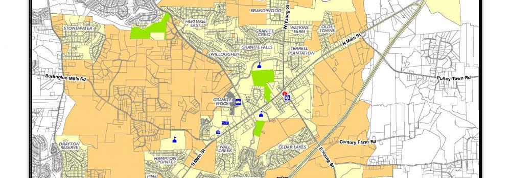 In-town / ETJ map