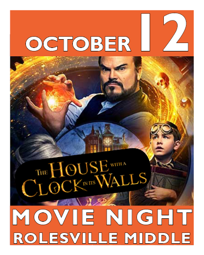 The House with the Clock in its Walls movie night