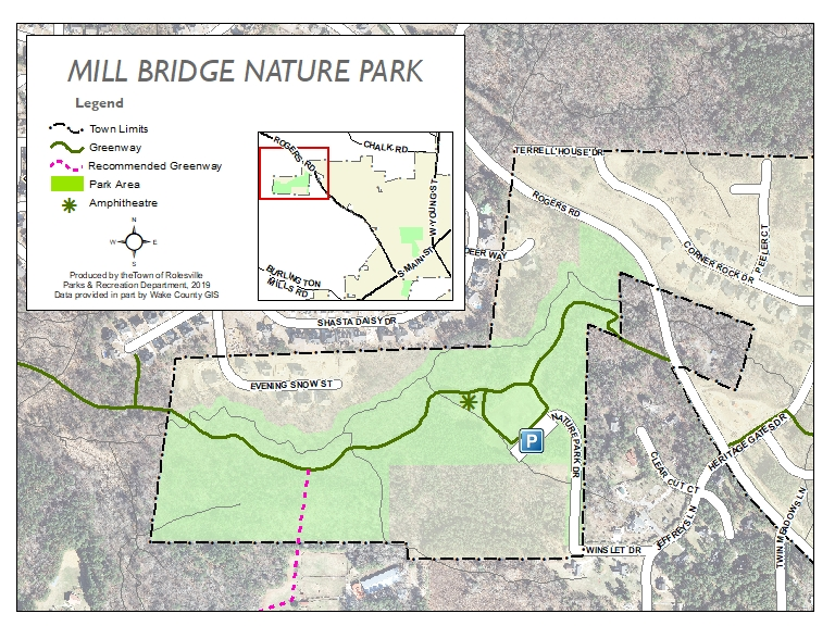 Mill Bridge Nature Park Map