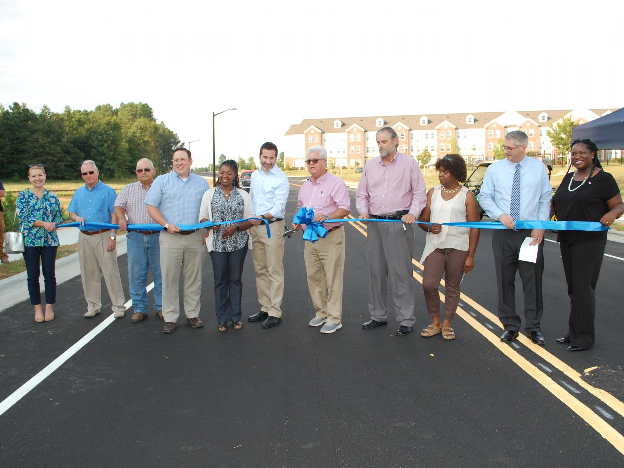 Granite Falls Boulevard Ribbon Cutting Town Of